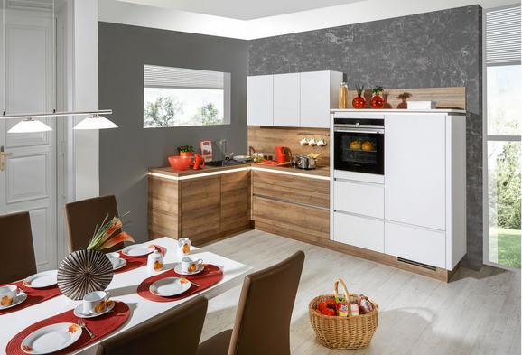 Kuhinjski Blok Riga/las Vegas - bela/hrast, Moderno, leseni material (181,5/313cm) - Vertico