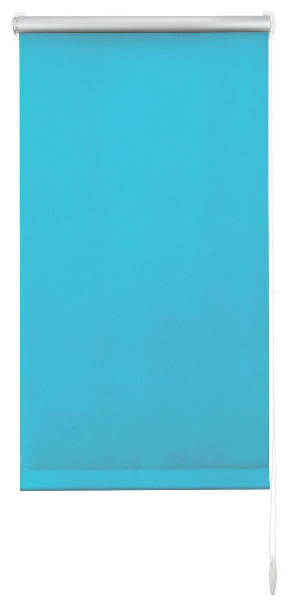 Klemmrollo Thermo Petrol ca. 45x150cm - Petrol, Textil (45/150cm) - Premium Living
