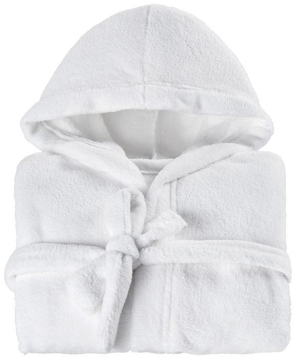 Kopalni Plašč Benji - turkizna/bela, Konvencionalno, tekstil (128-140) - Mömax modern living