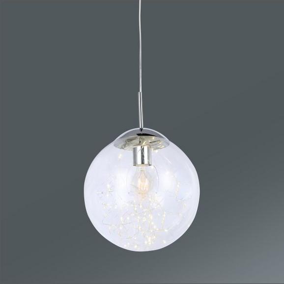 Hängeleuchte Kiko, max. 12 Watt - MODERN, Glas/Metall (30/150cm) - Premium Living