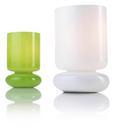 Asztali Lámpa Shelly - Fehér, konvencionális, Üveg (9,5/15cm) - Mömax modern living