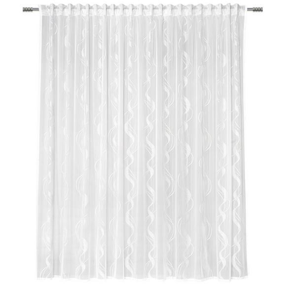 Končana Zavesa Wave Store 3 - bela, tekstil (300/245cm) - Mömax modern living