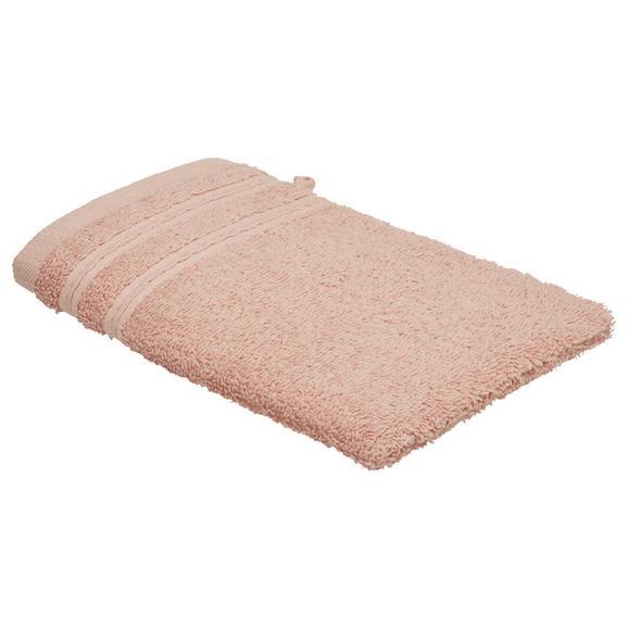 Waschhandschuh Melanie Rosa - Rosa, Textil (16/21cm) - Mömax modern living
