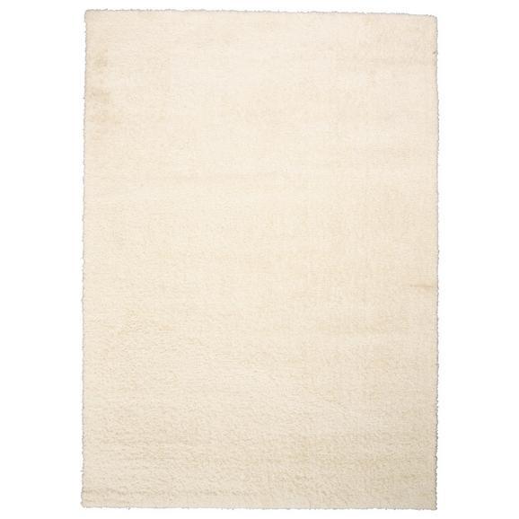 Hochflorteppich Nobel ca. 120x170cm - Creme, MODERN, Textil (120/170cm)