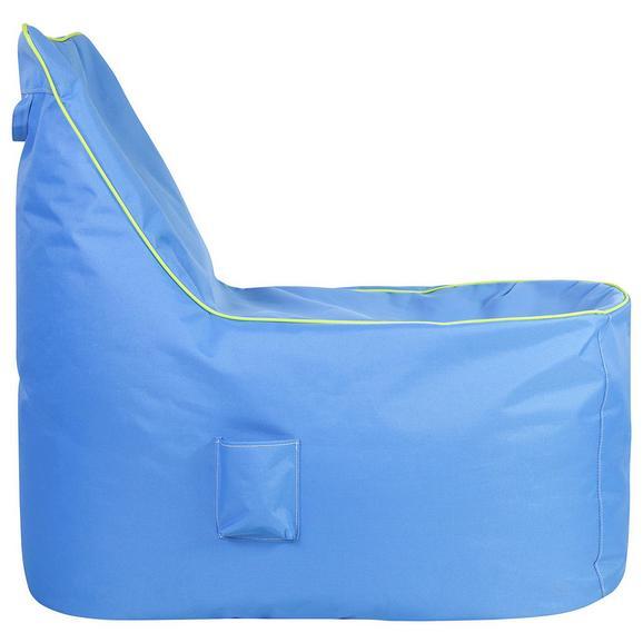 Vreča Za Sedenje Cortona - modra, Moderno, tekstil (100/90/70cm) - Mömax modern living