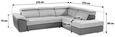 Kotna Sedežna Garnitura Blog - sivo rjava/peščena, Moderno, kovina/karton (276/232cm) - MÖMAX modern living