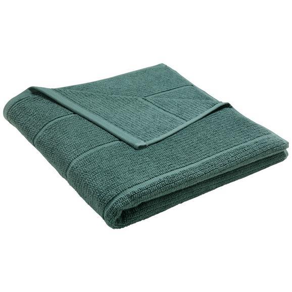 Brisača Anna - temno zelena, tekstil (70/140cm) - Mömax modern living