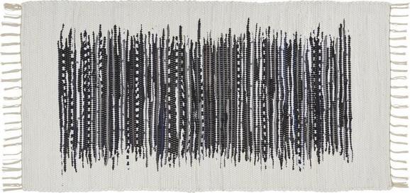 Fleckerlteppich Verena in Schwarz,ca. 80x150cm - Schwarz, LIFESTYLE, Textil (80/150cm) - MÖMAX modern living