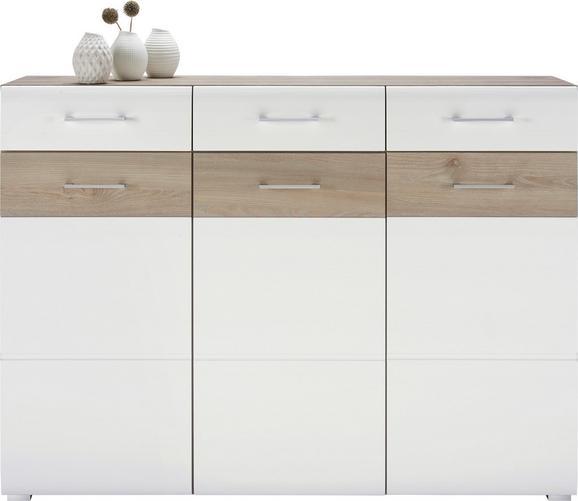 Sideboard Silbereiche Weiss Online Kaufen Momax