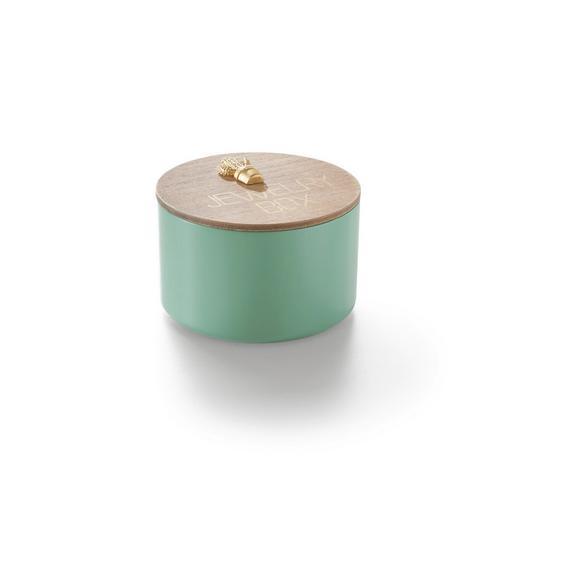 Okrasna Posoda Lilian - naravna/zelena, leseni material (13/13/10cm) - Mömax modern living
