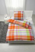 Bettwäsche Viktor, ca. 135x200cm - Orange, Textil (135/200cm) - Mömax modern living