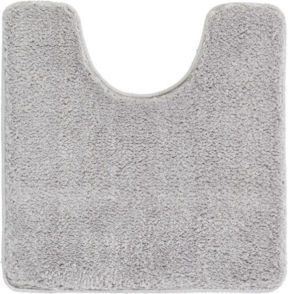 WC-Vorleger Christina ca. 50x50cm - Grau, Textil (50/50cm) - MÖMAX modern living