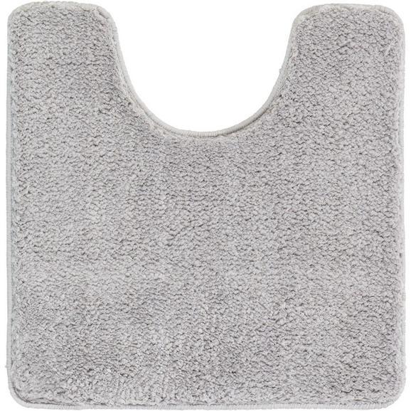 WC-Vorleger Christina Silbergrau - Grau, Textil (50/50cm) - Mömax modern living