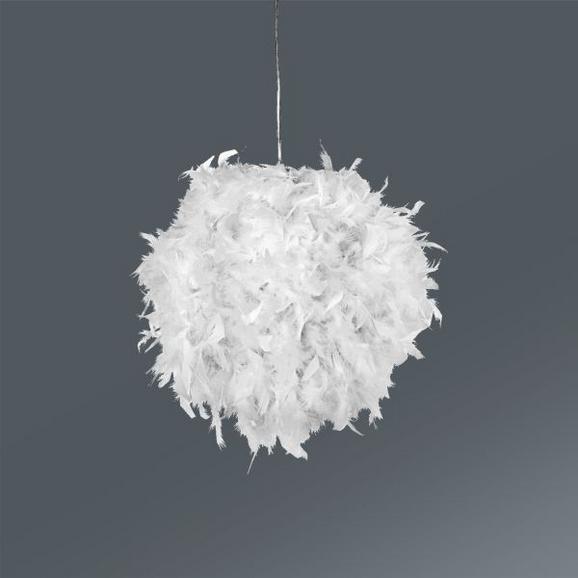 Hängeleuchte Larissa, max. 60 Watt - Weiß, ROMANTIK / LANDHAUS, Metall (30/110cm) - Mömax modern living