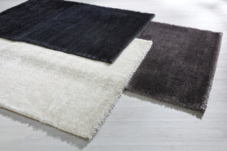 Hochflorteppich Florenz in Weiß, ca. 80x150cm - Weiß, MODERN, Textil (80/150cm) - MÖMAX modern living
