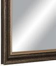 Wandspiegel Braun/goldfarben 45x60cm - Goldfarben/Braun, MODERN, Glas/Holzwerkstoff (45/60cm)