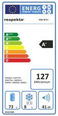 Kühlschrank Ksu 50 A+ - Weiß, KONVENTIONELL, Metall (48/83,8/56cm)