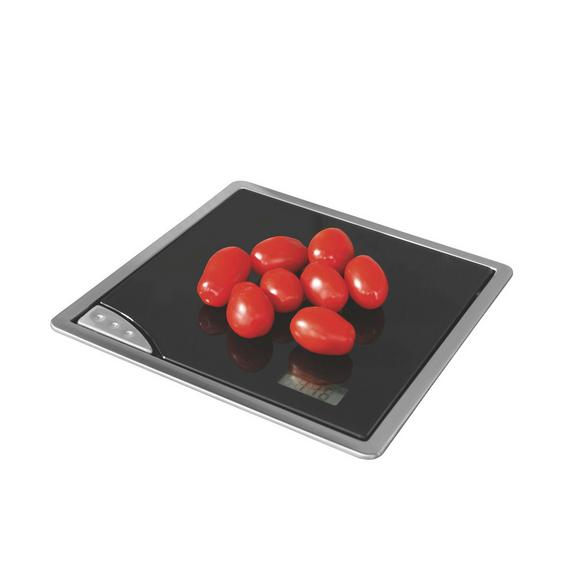 Küchenwaage 074450 - Schwarz, KONVENTIONELL, Metall (21/3/21cm)