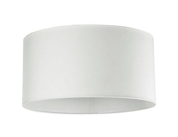 Leuchtenschirm Arno, max. 60 Watt - Weiß, Textil/Metall (50/50/25cm) - MÖMAX modern living
