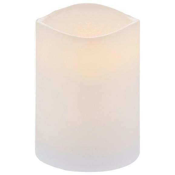 Lumânare Cu Led Leonie - alb, plastic (7,5/10cm) - Modern Living
