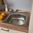 Küchenblock Pn80 Singleblock - Magnolie, MODERN, Holzwerkstoff (190cm) - Pino