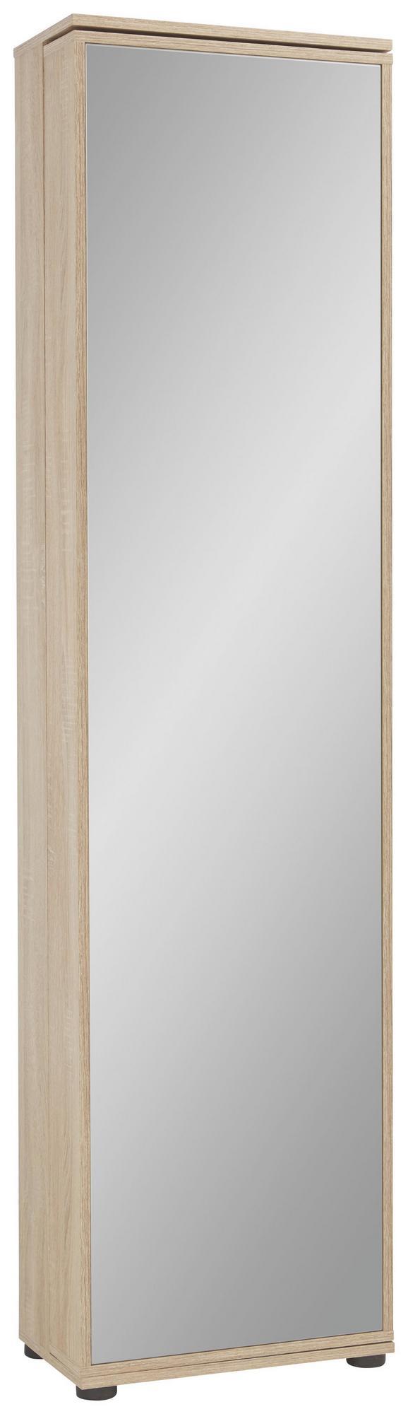Schuhschrank Eichefarben - Wengefarben/Eichefarben, Holz/Holzwerkstoff (47/190/29cm) - Mömax modern living