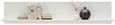 Wandboard Weiß matt - Weiß, MODERN, Holzwerkstoff (160/32/27cm) - Modern Living
