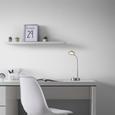 Schreibtischleuchte Holger, max. 3 Watt - Chromfarben, MODERN, Metall (20/30cm) - Mömax modern living