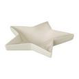 Dekoschale Star aus Keramik - Weiß, Basics, Keramik (22/22/5cm)