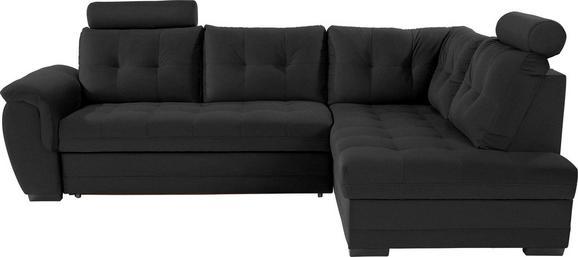 Sedežna Garnitura Falco - temno siva/črna, Konvencionalno, kovina/umetna masa (251/183cm) - Mömax modern living