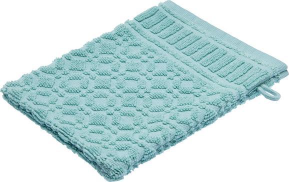 Rokavica Za Umivanje Carina - zelena, Romantika, tekstil (16/21cm) - Mömax modern living
