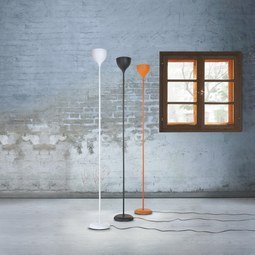 Stehleuchte Jake - Orange, Kunststoff (20/180cm) - MÖMAX modern living