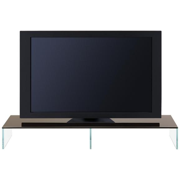 tv aufsatz schwarz transparent online kaufen m max. Black Bedroom Furniture Sets. Home Design Ideas