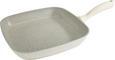 Grillpfanne Marmor aus Aluminium - Creme, ROMANTIK / LANDHAUS, Metall (28/28/4cm) - Premium Living