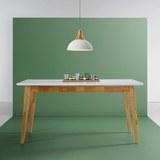 Esstisch Harry 150x90cm - Weiß, MODERN, Holz (150/90/75cm) - Mömax modern living
