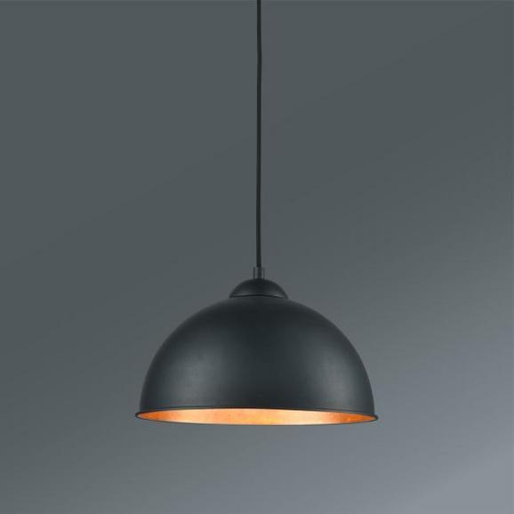 Függőlámpa Jimmy - fekete/arany színű, Lifestyle, fém (30/105cm) - MÖMAX modern living