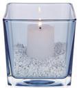 Váza Nora - Rózsaszín/Fehér, Üveg (10/10/10cm) - MÖMAX modern living
