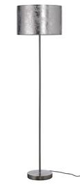 Stehleuchte Emelle - Nickelfarben, MODERN, Kunststoff/Metall (40/40/154cm) - Mömax modern living