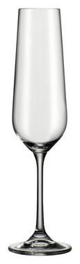 Kozarec Za Penino Norma - prozorna, Moderno, steklo (0,22l) - Bohemia