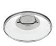 Dampfgarkochtopf Rösle inkl. Glasdeckel Ø ca. 20 cm - Edelstahlfarben, KONVENTIONELL, Glas/Metall (20cm) - Rösle