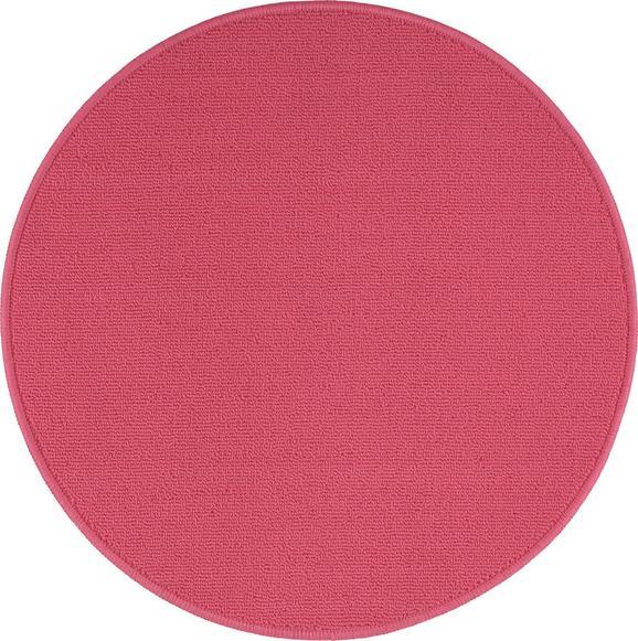 Teppich Eton Rosa D. 90cm - Rosa, LIFESTYLE, Textil (90cm) - Mömax modern living