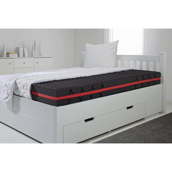 Komfortschaummatratze ca. 120x200cm - Weiß, Textil (120/200cm) - Nadana