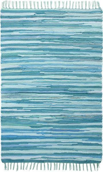 Rongyszőnyeg Tonal - türkiz, Lifestyle, textil (60/120cm) - MÖMAX modern living