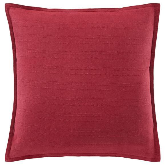 Pernă Decorativă Solid - roșu, textil (45/45cm) - Mary's