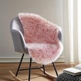 Kunstfell Romy - Rosa, MODERN, Textil (60/95cm) - Mömax modern living