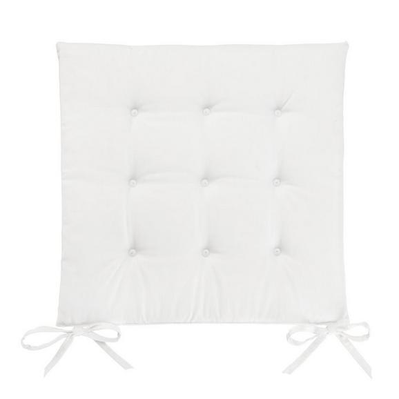Pernă Şezut Lola - Culoare naturală, Material textil (40/40/2cm) - Based