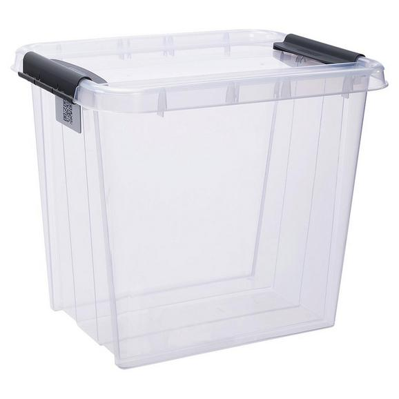 Aufbewahrungsbox Chaos ca. 53l - Transparent, MODERN, Kunststoff (51/39/43,5cm)