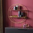Regal Goldfarben - Goldfarben, Metall (50/15/60cm)