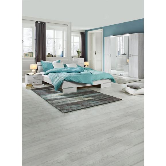 Dormitor Anna - alb, Modern, compozit lemnos/lemn (225/210/58cm)