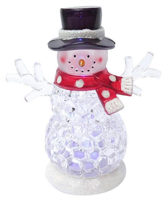 LED-Dekoleuchte Snowman In Versch. Modellen - Klar, Kunststoff/Metall (9/9/10,8cm) - MÖMAX modern living
